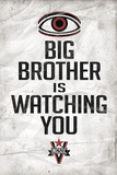 Big Brother is Watching You 1984 INGSOC Political Poster Print