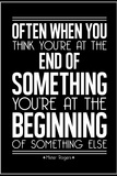 The Beginning Mister Rogers Quote Posters