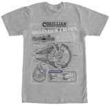 Star Wars- Corellian Engineering T-shirts