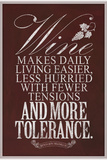 Benjamin Franklin Wine Quote Prints