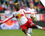 2014 MLS Playoffs: Nov 2, D.C. United vs New York Red Bulls - Bradley Wright-Phillips Art by Brad Penner