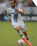 2014 MLS Western Conference Championship: Nov 23, Seattle Sounders vs LA Galaxy - Landon Donovan Prints by Kelvin Kuo
