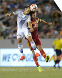 Jul 12, 2014 - MLS: Real Salt Lake vs Los Angeles Galaxy - Landon Donovan Prints by Kirby Lee