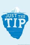 Iceberg Tip Poster