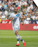 2014 MLS Cup Final: Dec 7, New England Revolution vs LA Galaxy - Landon Donovan Posters by Kyle Terada