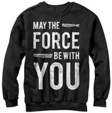 Crewneck Sweatshirt: Star Wars- Force Quote Shirts