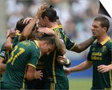 Aug 2, 2014 - MLS: Portland Timbers vs Los Angeles Galaxy - Diego Valeri Print by Jayne Kamin-Oncea