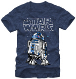Star Wars- 8-Bit R2 T-Shirt
