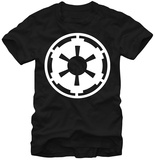 Star Wars- Imperial White Crest T-Shirt