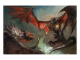 Fire Dragon Air Duel Prints