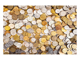 Coins Dollar Money Treasure Prints