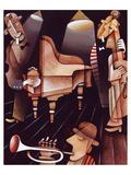 Jazz Trio - Braque Style Prints