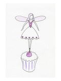 Cupcake Ballerina Fairy Prints
