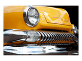 Yellow Car Grill & Headlight Posters