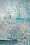 Danielas Sailboat IV Posters by Aimee Wilson