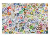 International Vintage Stamps Posters