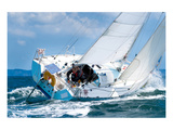 Yacht Skipper Sailing Regatta Prints