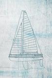 Danielas Sailboat II Print by Aimee Wilson