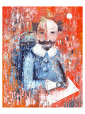 Shakespeare Impasto Protrait Prints