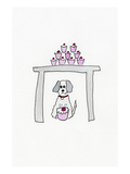Birthday Cupcake Puppy Posters