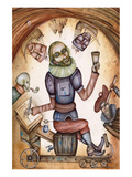 Surreal Shakespeare Portrait Prints