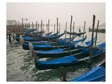 Canal Gondolas Venice Italy Prints