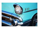 Vintage Car Front Detail Print