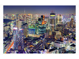 Minato-Ku Area Tokyo Sky Tree Affiche
