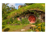 Bilbo's Village New Zealand Prints