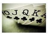 Full House of Poker Plakater