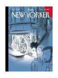 The New Yorker Cover - November 30, 2015 Regular Giclee Print by Charles Berberian