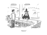 """Shaketh."" - New Yorker Cartoon Premium Giclee Print by Danny Shanahan"
