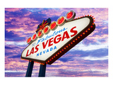Welcome to Las Vegas Neon Sign Posters