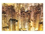 Dense Hong Kong City Snapshot Print