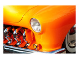 Yellow Car Fender & Headlight Prints