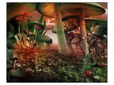 Fairytale & Mushrooms Scenery Prints