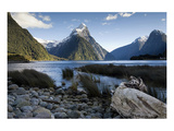Mitre Peak Milford New Zealand Print