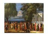 Armemian Wedding, C.1720-37 Giclée-Druck von Jean Baptiste Vanmour