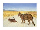 Saratoga Crossing, 1995 Giclee Print by  Ditz