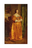 Martha Cranfield Giclée-Druck von Anthony Van Dyck