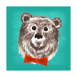 Bear Print by Bella Dos Santos