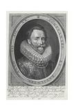 Dudley Carleton, 1st Viscount Dorchester, 1620 Giclee Print by Michiel Jansz. van Mierevelt