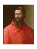 Cardinal Rudolfo Pio, Bishop of Faenza (C.1500-64), 1528 Giclée-tryk af Francesco De Rossi Salviati Cecchino