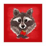 Raccoon Posters by Bella Dos Santos