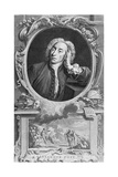 Portrait of Alexander Pope (1688-1744) Giclee Print by Arthur Pond