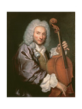 Cello Player, C.1745-50 Giclee Print by Giacomo Ceruti
