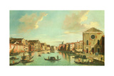 The Grand Canal, Venice, 18th Century Giclee Print by William James