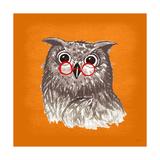 Owl Prints by Bella Dos Santos