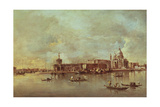 Santa Maria Della Salute Seen from the Mouth of the Grand Canal, Venice Giclee Print by Francesco Guardi
