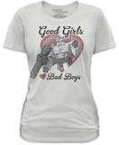 Juniors: Transformers- I Heart Bad Bots T-Shirts
